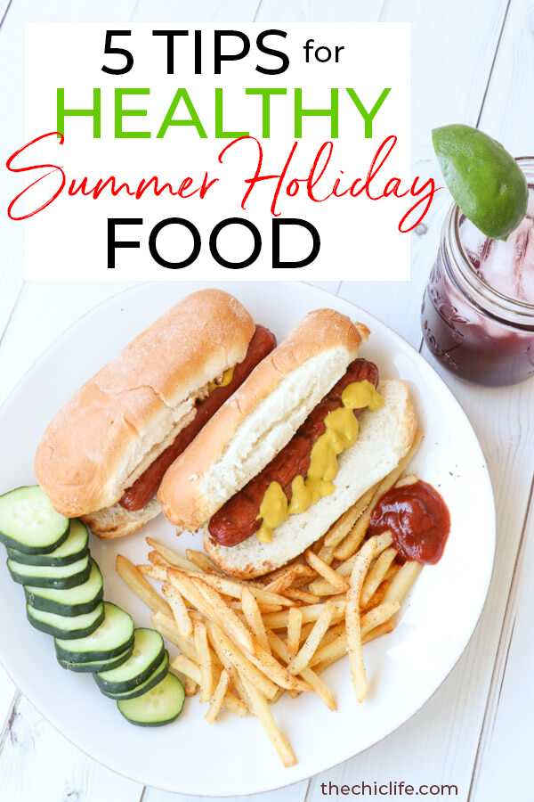 Click for 5 tips for enjoying your favorite Memorial Day holiday foods the healthy way without restriction! Healthy swaps, tips for not overeating, and more! #healthyeating #memorialdayfood #healthyholiday #healthyliving #healthylifestyle #cleaneating #intuitiveeating #foodfreedom