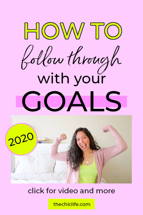 Click to learn 5 EASY and REALISTIC ways to achieve your goals in 2020 and beyond! Video included! Make 2020 your best year yet! #selfimprovement #mindset #personalgrowth #personaldevelopment #selfhelp #changeyourlife  #mindset #goodvibes #habits #successhabits #dailyhabits