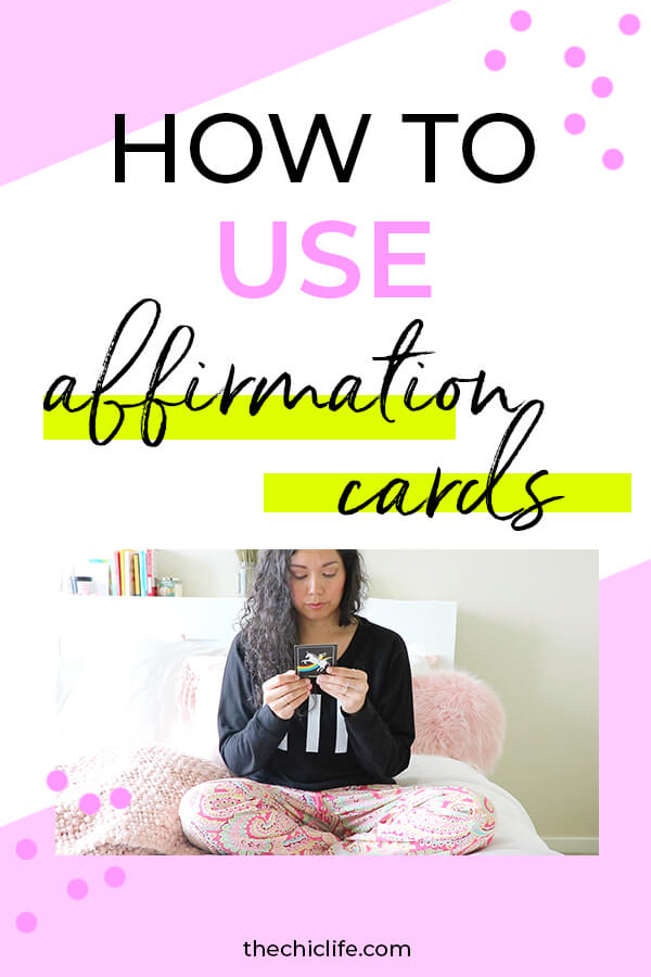 Click to learn how to use affirmation cards to have a positive day by setting your intention with a daily card #selfimprovement #mindset #personalgrowth #personaldevelopment #selfhelp #changeyourlife  #mindset #goodvibes #habits #successhabits #dailyhabits #quoteoftheday #quotestoliveby #quotesdaily #quotestoremember #theuniverse
