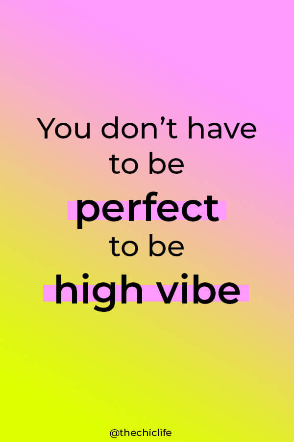 Stop holding back on going for that high vibe lifestyle. You DON'T have to be perfect to enjoy high vibes. You can incorporate good vibes NOW. Click for more! #selfimprovement #lawofattraction #manifest #personaldevelopment #manifestation #changeyourlife  #mindset #goodvibes #habits #successhabits #dailyhabits #quoteoftheday #quotestoliveby #quotesdaily #quotestoremember #theuniverse
