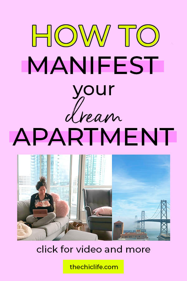 Click to learn how to manifest a luxury dream apartment or home. This Law of Attraction success story is all about my awesome apartment! #lawofattraction #loa #manifestation #manifest #personalgrowth #personaldevelopment #woowoo #changeyourlife  #goodvibes #successhabits #highvibes #spirituality #theuniverse