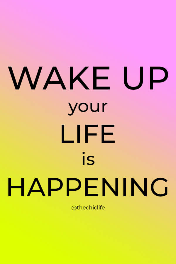 Are you sleep-walking your way through life or powerfully creating the life of your dreams! Wake up! Your life is happening now. Click to learn how to live life on your terms #lawofattraction #loa #manifestation #manifest #personalgrowth #personaldevelopment #woowoo #changeyourlife #goodvibes #successhabits #highvibes #spirituality #theuniverse