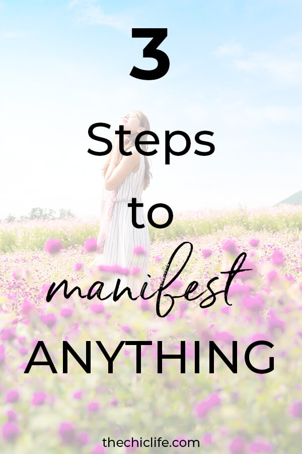 Learn how to manifest ANYTHING with these 3 simple steps. Great for beginners. What to do to use Law of Attraction #lawofattraction #loa #manifestation #manifest #personalgrowth #personaldevelopment #woowoo #changeyourlife  #goodvibes #manifestlove #highvibes #spirituality #theuniverse