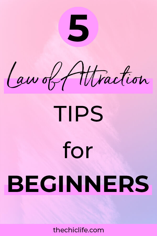 Click for 5 Law of Attraction tips for beginners. Have fun, manifest with ease, use Law of Attraction successfully, and avoid mistakes most people make starting out #lawofattraction #loa #manifestation #manifest #personalgrowth #personaldevelopment #woowoo #changeyourlife  #goodvibes #manifestlove #highvibes #spirituality #theuniverse