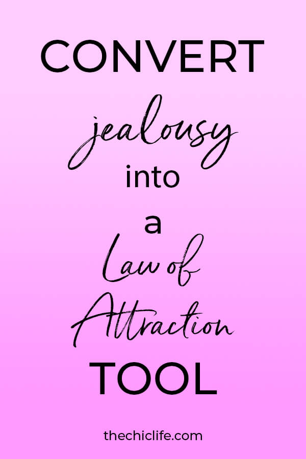 Jealous thoughts actually push AWAY what we want. But good news! You can CONVERT them into a POWERFUL manifestation tool! Here's how! #lawofattraction #loa #manifestation #manifest #personalgrowth #personaldevelopment #woowoo #changeyourlife #goodvibes #manifestlove #highvibes #spirituality #theuniverse