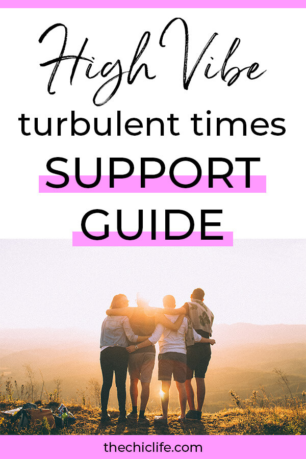Click for a full list of info and resources to help you get through this difficult time. Get this High Vibe Turbulent Times Support Guide for mindset and well being the practical meets woo way #goodvibes #highvibes #spirituality #theuniverse #personalgrowth #personaldevelopment