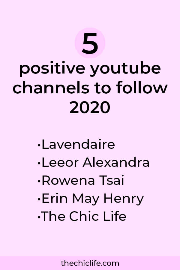 Enjoy self care, stress relief, personal development, business building, manifestation, and more with these 5 amazing, positive YouTube channels #lawofattraction #loa #manifestation #manifest #personalgrowth #personaldevelopment #goodvibes #highvibes #spirituality #theuniverse #mindset #LawOfVibration #successhabits