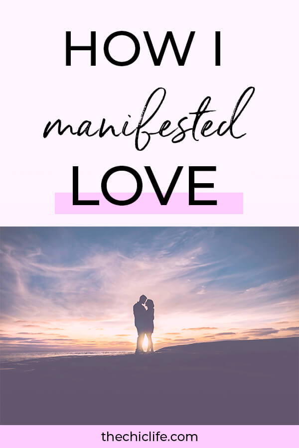 How I manifested LOVE using Law of Attraction. Click to for a video and blog post with my 9 tips on how YOU can manifest love too! #lawofattraction #loa #manifestation #manifest #personalgrowth #personaldevelopment #goodvibes #highvibes #spirituality #theuniverse #mindset #LawOfVibration #successhabits
