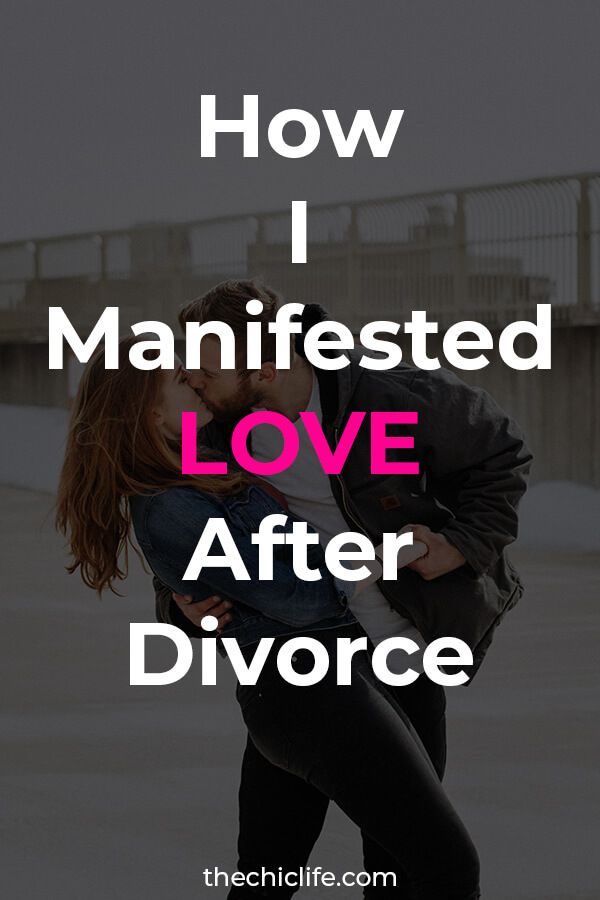 YES! You can manifest love after divorce. Learn 9 tips to manifest a relationship - I used these after my divorce to manifest my boyfriend in a couple months! #lawofattraction #loa #manifestation #manifest #personalgrowth #personaldevelopment #goodvibes #highvibes #spirituality #theuniverse #mindset #LawOfVibration #successhabits #manifestlove #divorce
