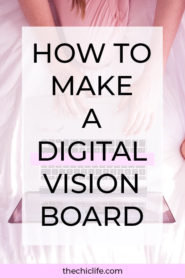 Make a vision board without leaving your house! Click to learn how to make a Digital Vision Board from the comfort of your home. Easy manifestation technique for beginners. #lawofattraction #loa #manifestation #manifest #personalgrowth #personaldevelopment #goodvibes #highvibes #spirituality #theuniverse #mindset #LawOfVibration #successhabits