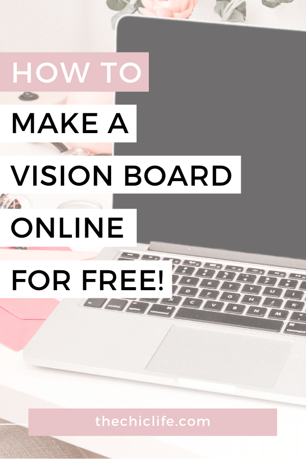 This is GENIUS! Create your future dream life with a vision board you can make from the comfort of your couch. Learn how to make a vision board online. Bonus - it's FREE! #lawofattraction #loa #manifestation #manifest #personalgrowth #personaldevelopment #goodvibes #highvibes #spirituality #theuniverse #mindset #LawOfVibration #successhabits #visionboard