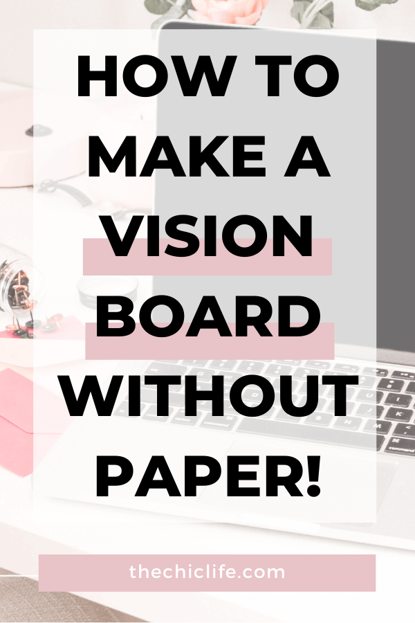 YES! You can make a vision board without ordering supplies or leaving your home to buy anything. Click to learn how you can make a vision board online without paper! PS: It's FREE! #lawofattraction #loa #manifestation #manifest #personalgrowth #personaldevelopment #goodvibes #highvibes #spirituality #theuniverse #mindset #LawOfVibration #successhabits #visionboard