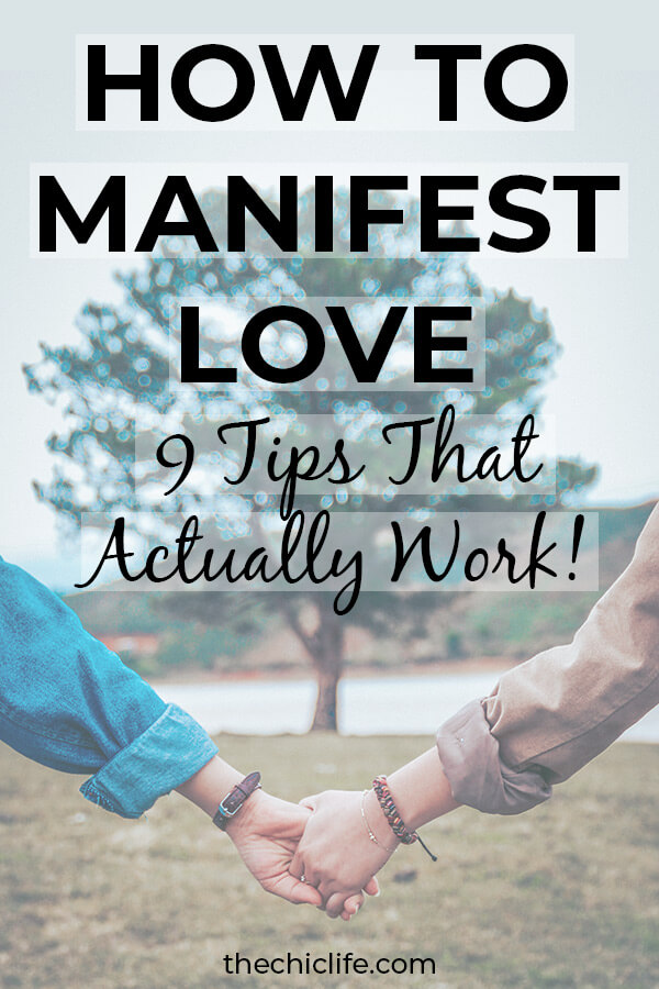 This ACTUALLY works! Get 9 tips to Manifest Love. I used these to manifest my boyfriend. Learn how to use Law of Attraction to attract your ideal relationship #lawofattraction #loa #manifestation #manifest #personalgrowth #personaldevelopment #goodvibes #highvibes #spirituality #theuniverse #mindset #LawOfVibration #successhabits #manifestlove
