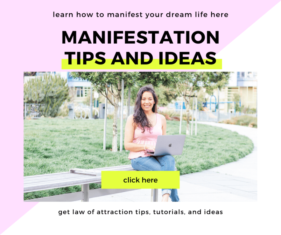 Get Manifestation Tips and Ideas so you can manifest your dream life with ease! Law of Attraction tips for beginners and all! #manifestation #lawofattraction #manifest #loa