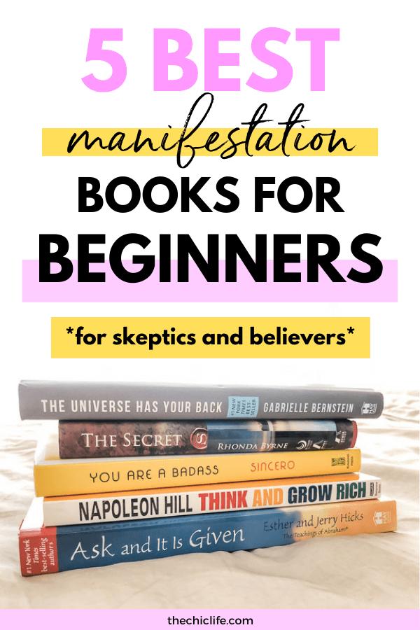 5 Best Manifestation Books for Beginners