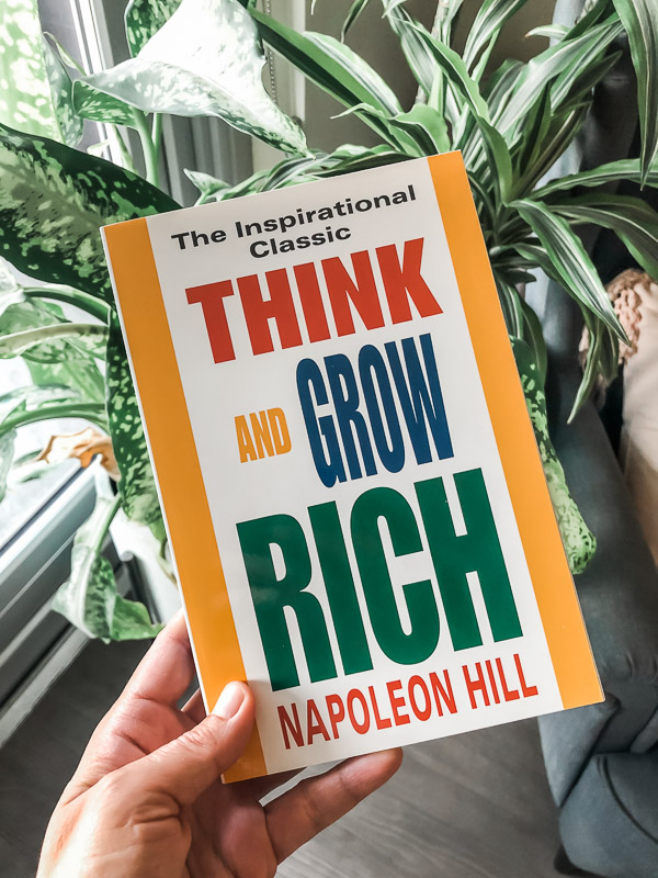 Think and Grow Rich - Best Law of Attraction Books for Beginners