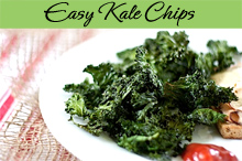 Kale Chips Recipe and Photo Tips